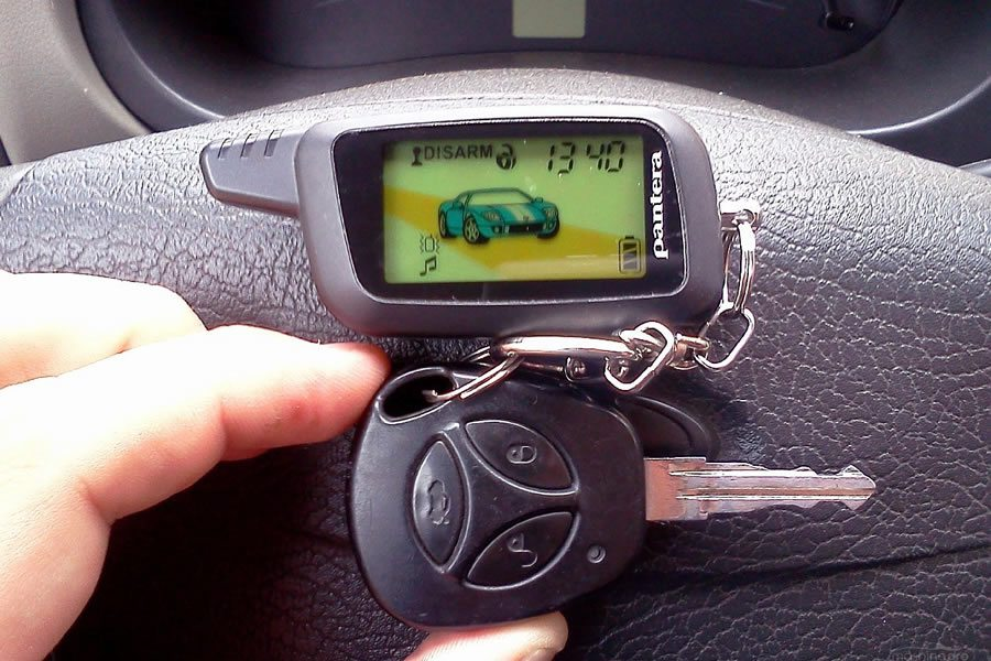 Автосигнализация Пантера