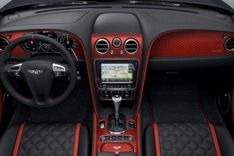 Салон Bentley Continental GT