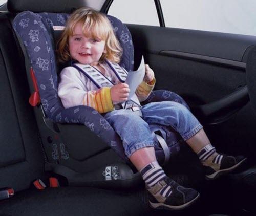 Обезопасьте детей во время поездки