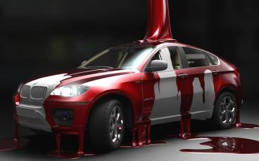 Покраска автомобиля - не простой процесс обливания краской