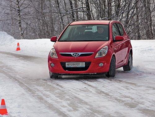 ABS позволяет избежать блокировки колес и заноса при торможении