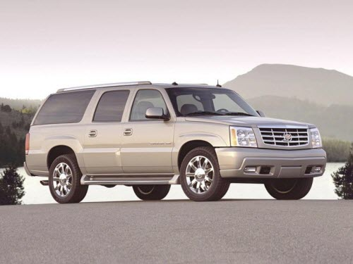 Cadillac Escalade ESV –хромированный