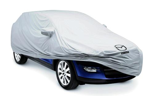 Чехол для защиты автомобиля должен быть изготовлен из материала, не пропускающего влагу