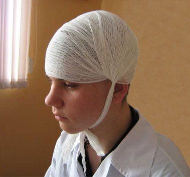 Оказание первой помощи при переломе костей черепа