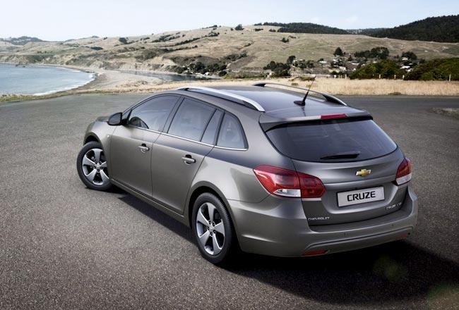 Chevrolet Cruze универсал рассчитан на людей от 45 лет