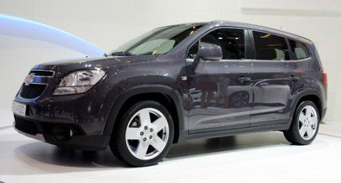 Вот так выглядит Chevrolet Orlando LS