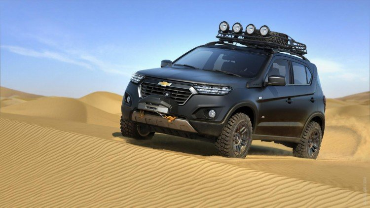Внешний вид Chevrolet Niva 2020-2021