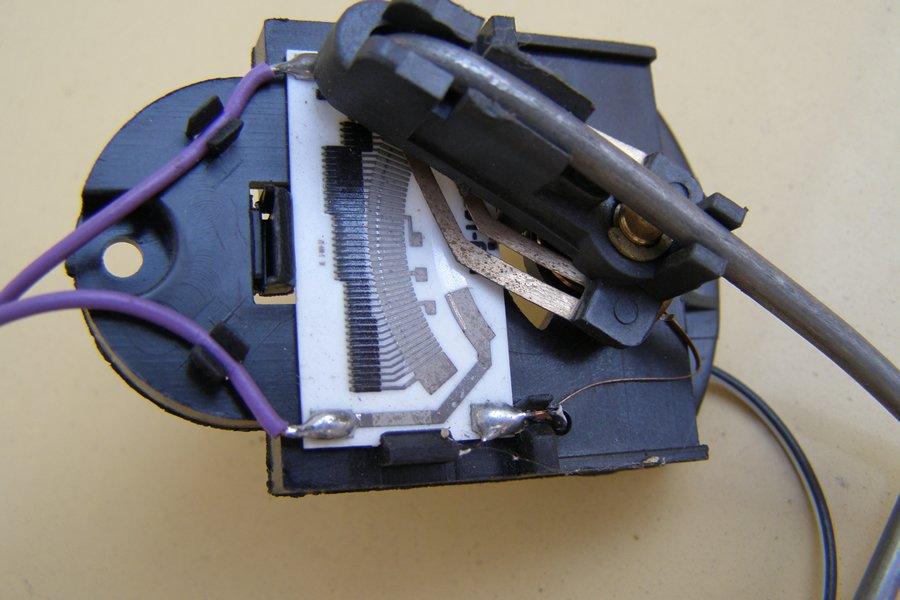 Магнитный переключатель для байпасных указателей