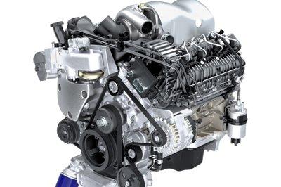 Дизельный двигатель Duramax 4.5L V8