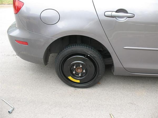 запасное колесо докатка