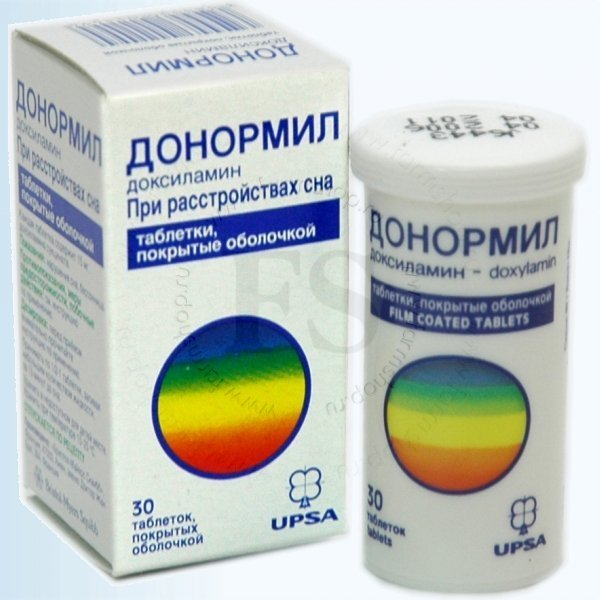 """Снотворное средство """"Донормил"""""""