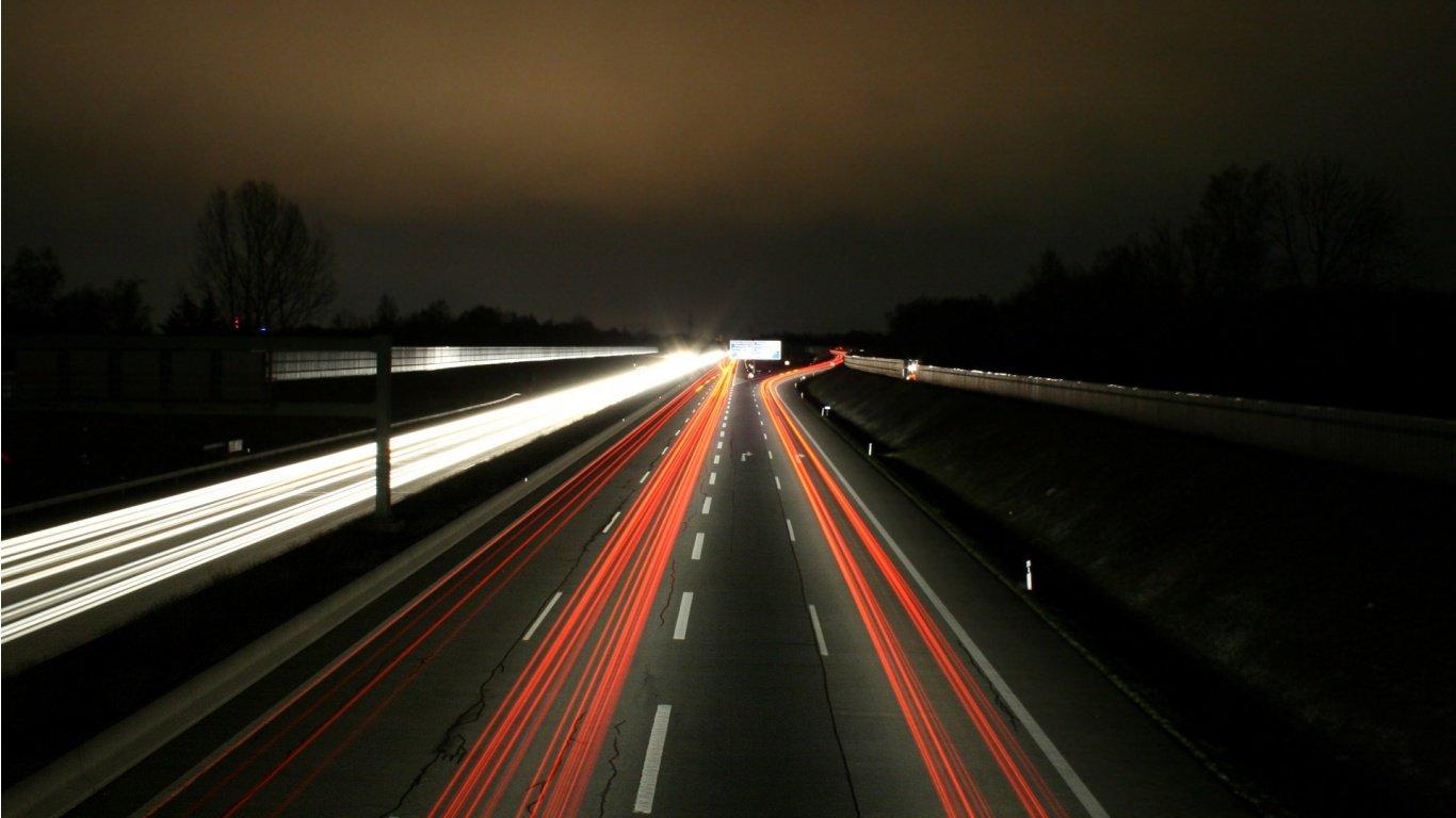 Важно соблюдать внимательность при вождении в ночное время