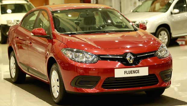 Renault Fluence 2016-2017 года