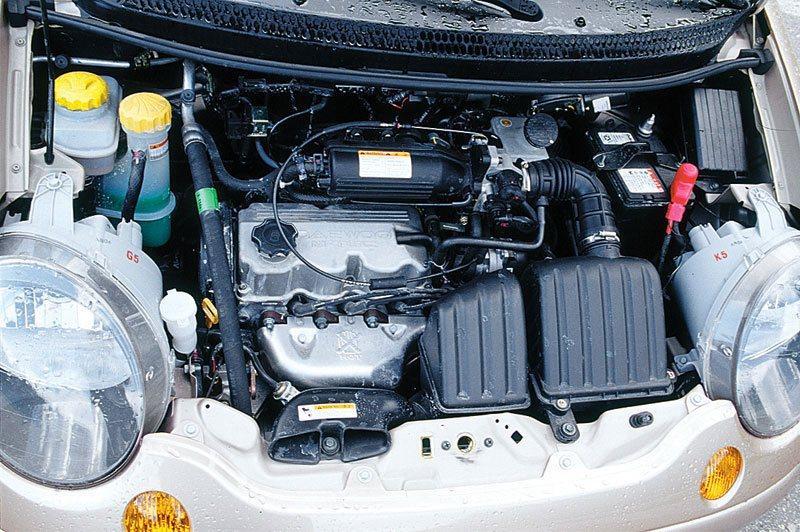 4-x цилиндровый двигатель Daewoo Matiz