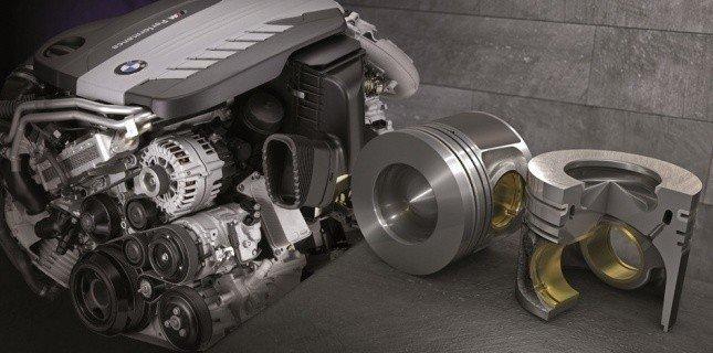 Тюнингованый двигатель и поршни к нему