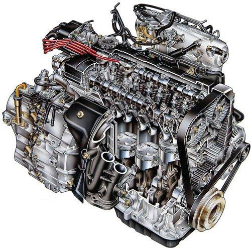 Двигатель – «жизненный центр» автомобиля