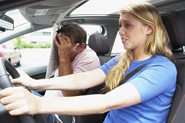 Инструктор экзамен по вождению