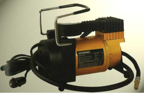 Электро компрессор, подключаемый через прикуриватель