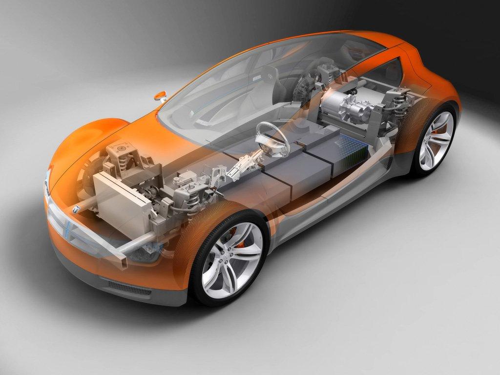 Основные узлы электромобиля