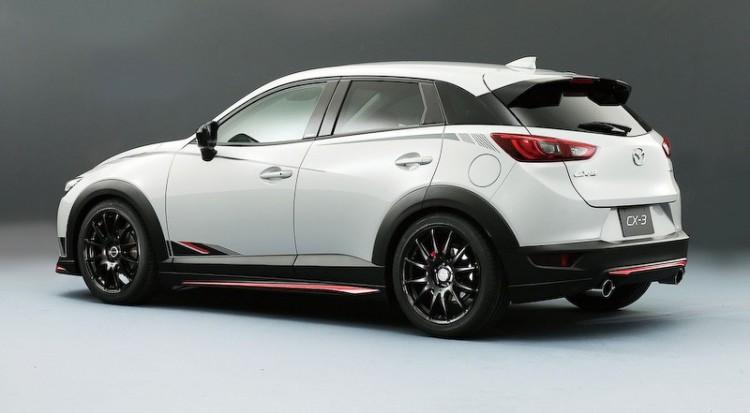 Стильный дизайн Mazda CX-3