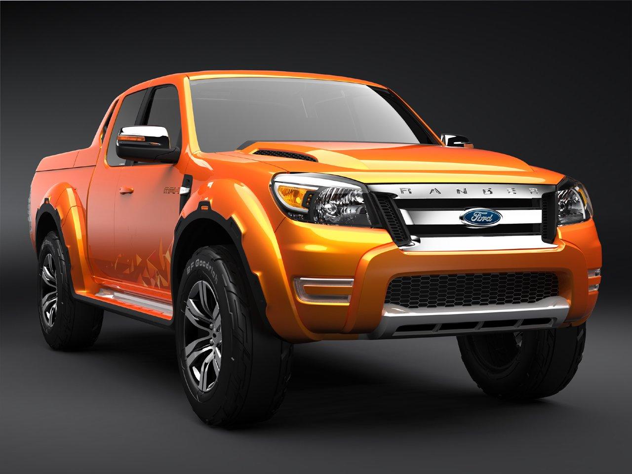 Ford Ranger - второй кандидат, сравнительно новое авто