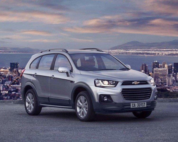 Особенности и стоимость Chevrolet Captiva 2020-2021