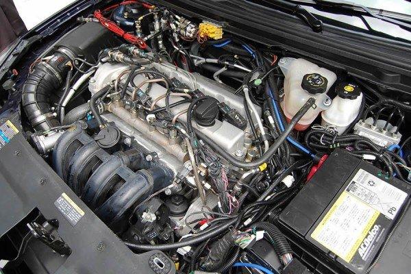 Инжекторный двигатель фото