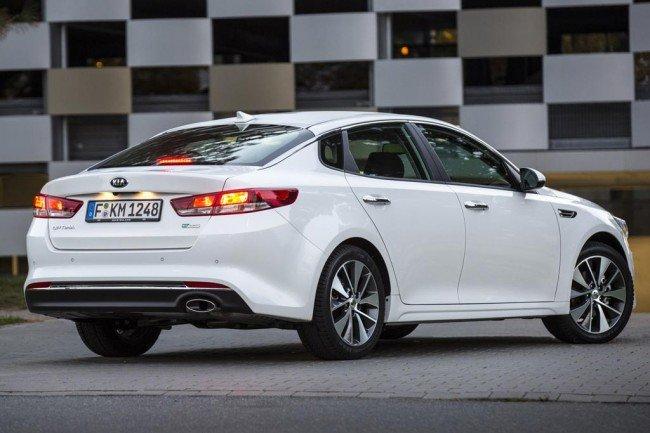 Стоимость автомобиля KIA Optima