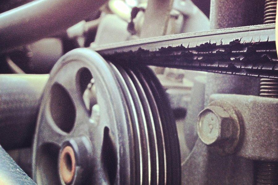 Фото №37 - свистит ремень генератора ВАЗ 2110