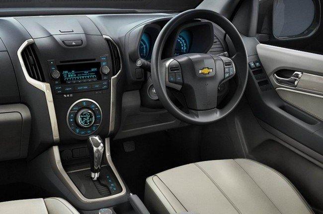 Фото салона Chevrolet TrailBlazer 2016-2017 года