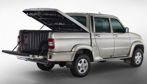 Технические характеристики УАЗ Патриот Пикап