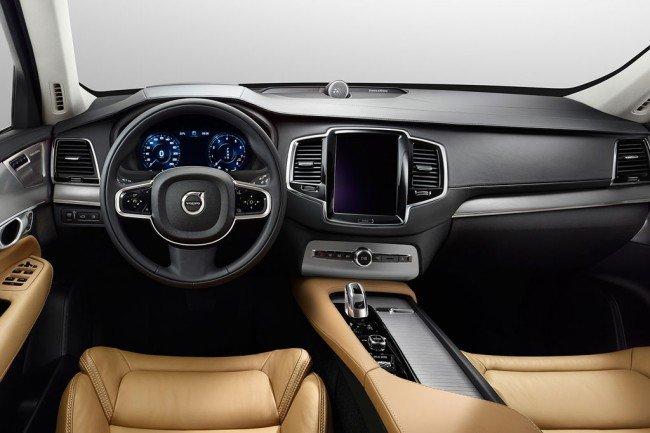 Салон Volvo XC90 2020-2021 года