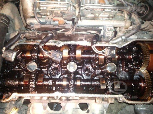 Гарь в двигателе