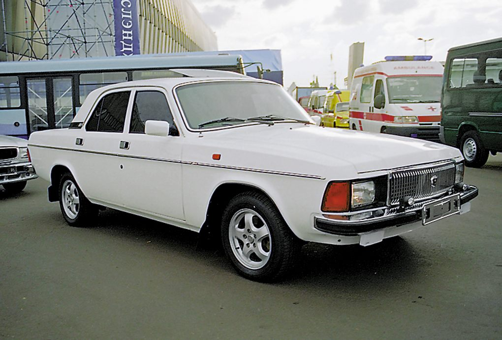 """ГАЗ 3102 - измененная """"24ка"""""""