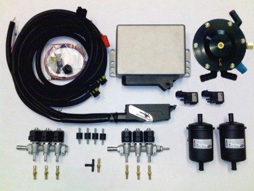 Комплект оборудования для работы автомобиля на газовом топливе