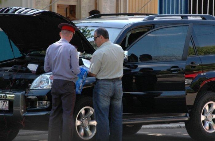 ГИБДД снимает автомобиль с учета