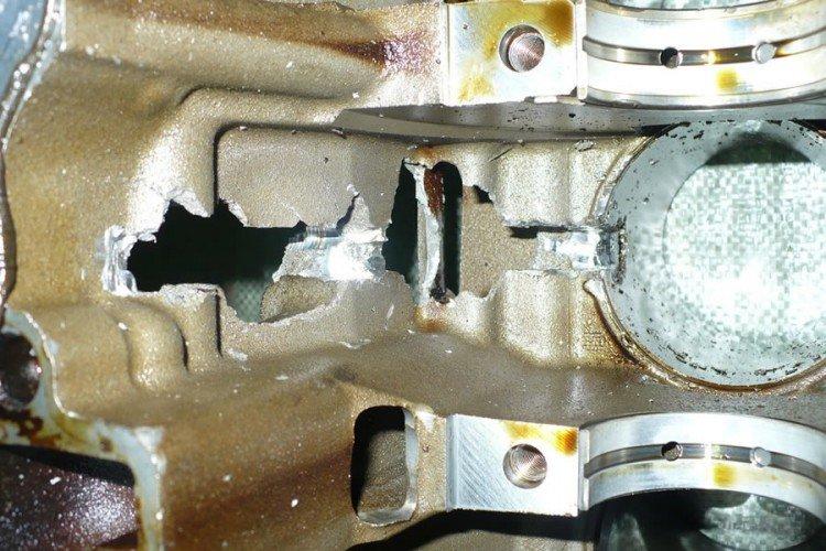 Последствия гидроудара двигателя фото