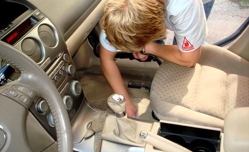 Химчистка авто своими руками видео
