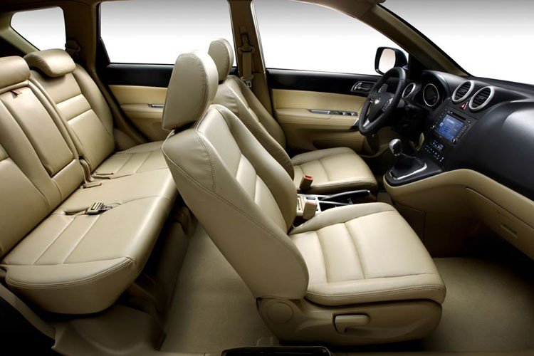 Внутри автомобиля Great Wall Hover H6 2016-2017 года