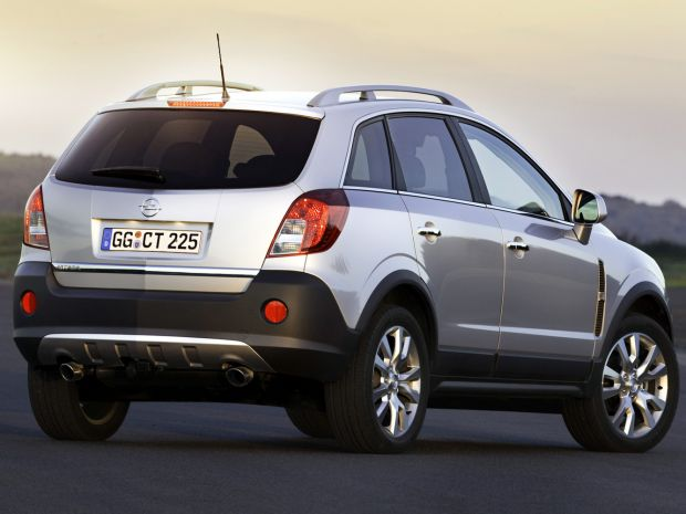 Технические характеристики Opel Antara 2016-2017
