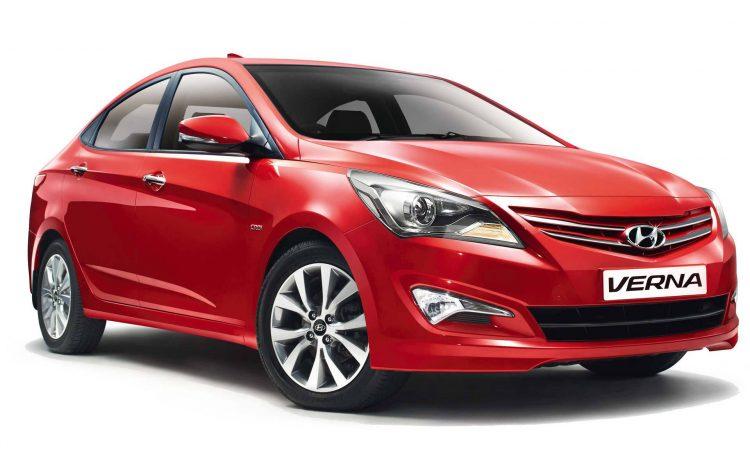 Последнее поколение седана Hyundai Verna 2016-2017 модельного года