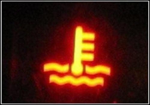 Датчик повышенной температуры охлаждающей жидкости двигателя