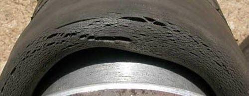 Последствия неправильного хранения шин