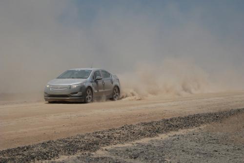 Испытания автомобиля в экстремальных условиях