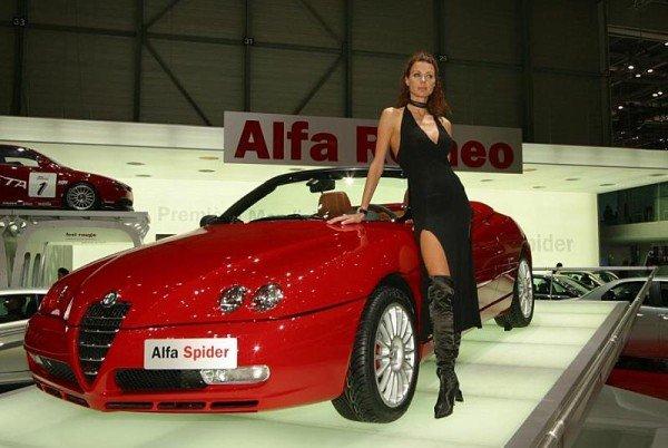 кабриолет Alfa Romeo Spider