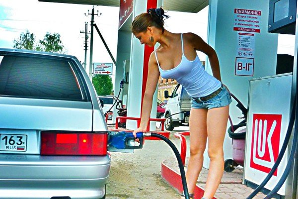 Качество бензина на заправке