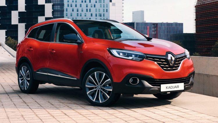 Renault Kadjar 2020-2021 года в новом кузове
