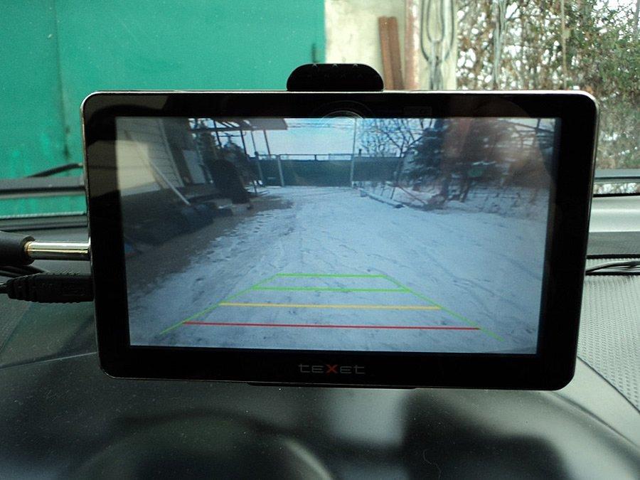 Установка камеры заднего вида в авто