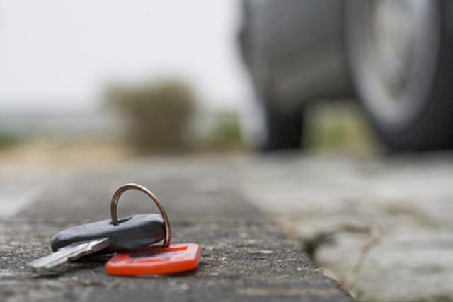 Ключи могут затеряться в любом месте - нужно поискать