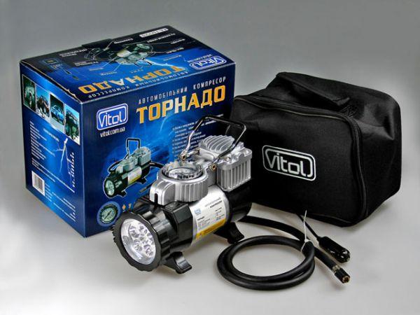 Также в компрессор может быть встроен фонарь